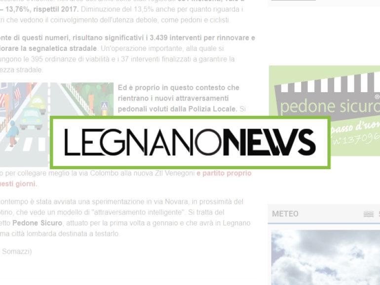 Legnanonews parla della nostra nuova installazione